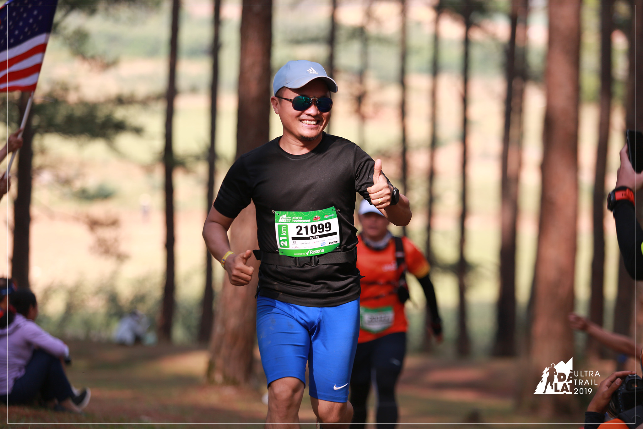 Duy Do conquered his first trail half-marathon at Dalat Ultra Trail 2019.